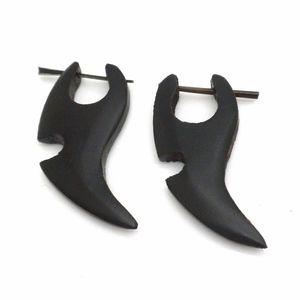 "Wood Earrings 1.5"""